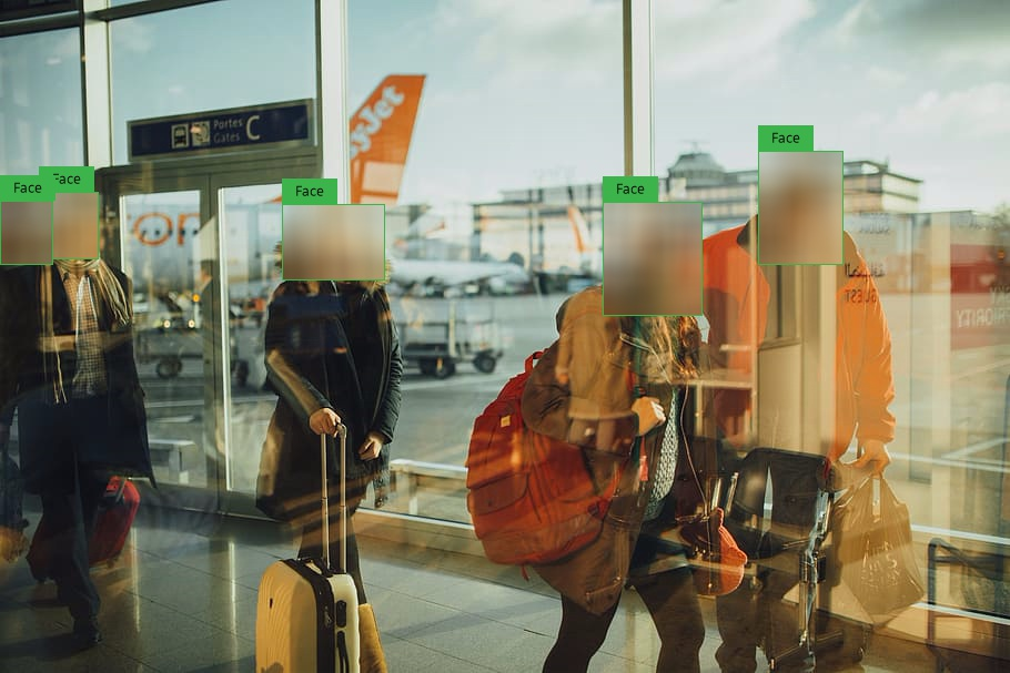 Video Surveillance for Airport Terminals