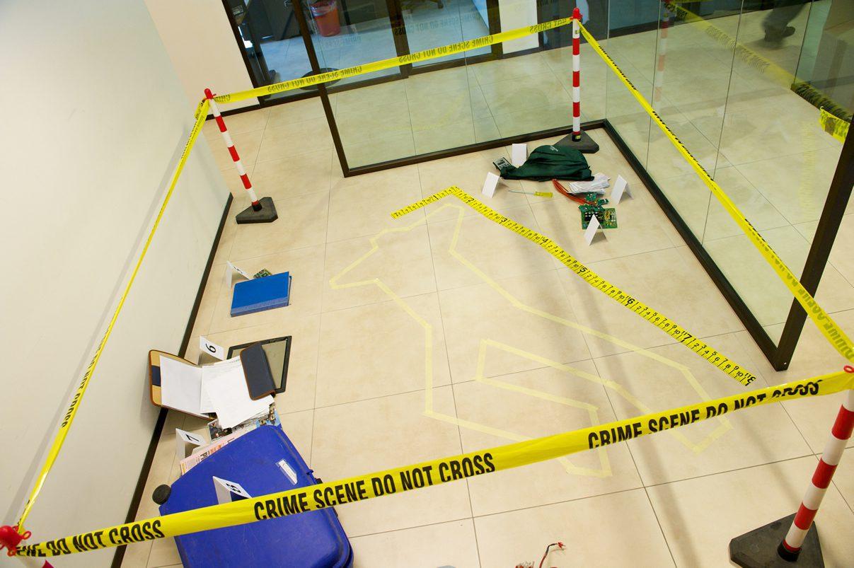 Crime scene evidence management
