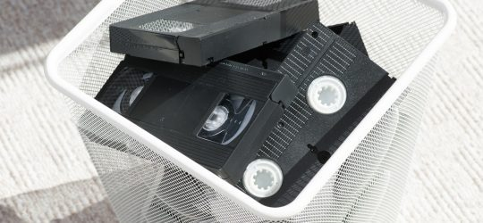 Digital evidence on VHS tapes