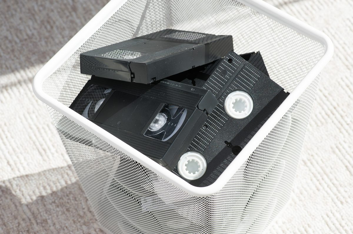 Digital evidence on VHS tapes