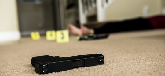 How to handle firearms, fireworks, explosives, and sharp items in the evidence room?