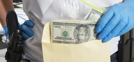 How to handle currency, jewelry, and forgeries in the evidence room
