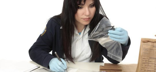 How to handle found property in the evidence room