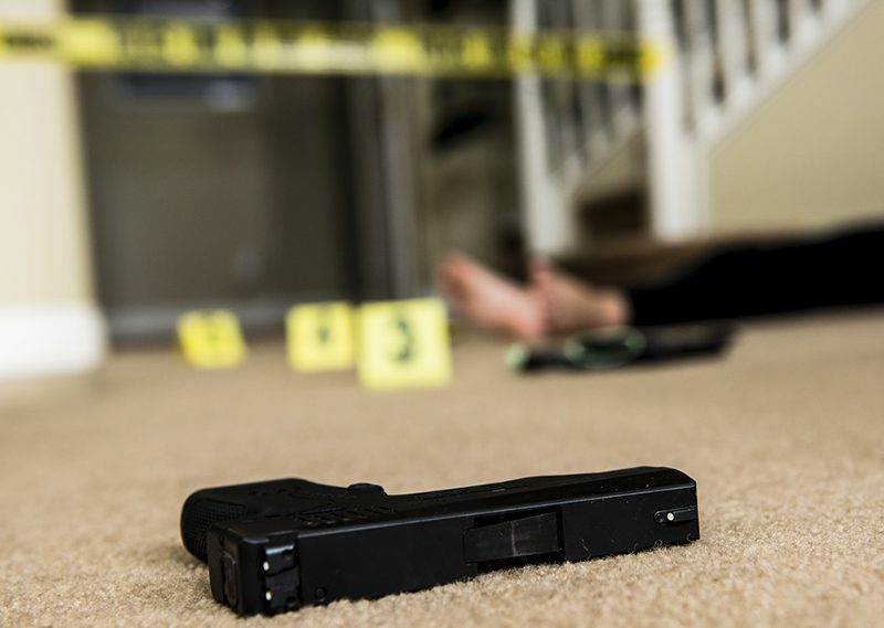 Managing evidence at suspicious death scenes
