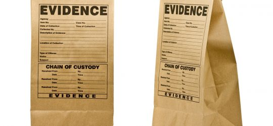 Packaging and labeling evidence