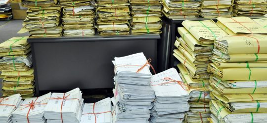 Paperwork, a time killing machine for law enforcement