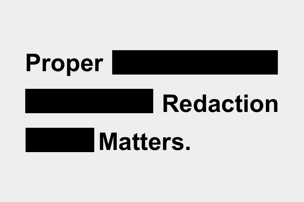 Document Redaction Software | The Basics