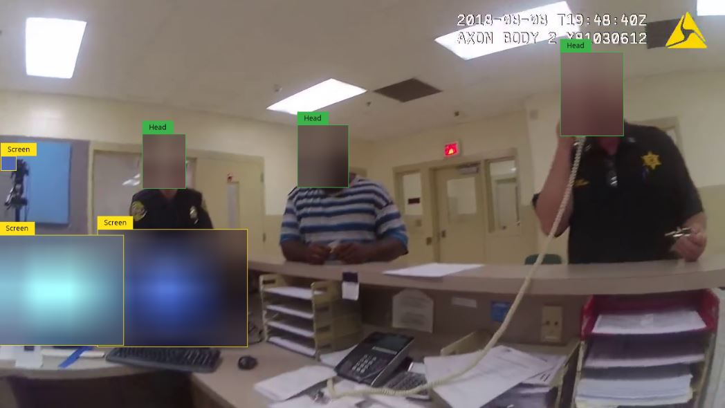 Automatically Redact Faces, License Plates, and Computer Screens in Videos