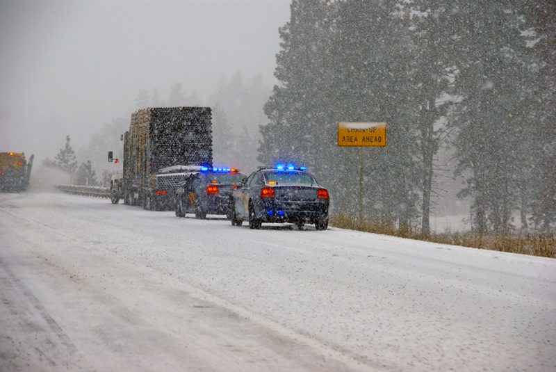 How to collect physical evidence in inclement weather