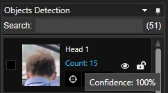 100% Confidence Face Detection