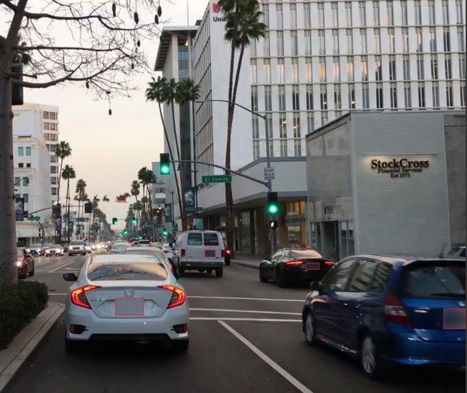 Blur License Plates Effect
